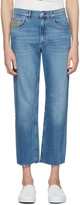 April 77 Blue Flip Open Skate Jeans