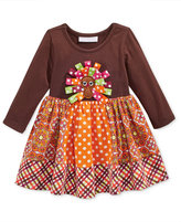 Bonnie Baby Baby Girls' Turkey Dress