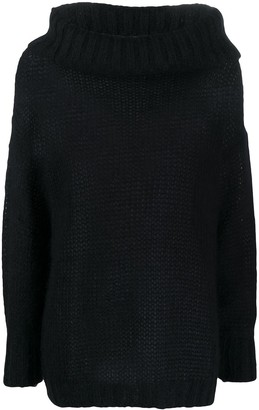 Twin-Set Oversized Cowl Neck Jumper