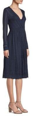 M Missoni Solid Knit Dress