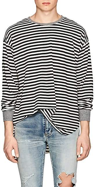NSF Men's Andy Striped Cotton T-Shirt - Black