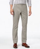 Michael Kors Men's Tailored Flat-Front Stretch Pants
