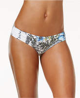 Vince Camuto Wildflower-Print Cheeky Bikini Bottoms
