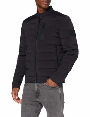 Calvin Klein Jeans Men's Quilted Padded Moto Jacket
