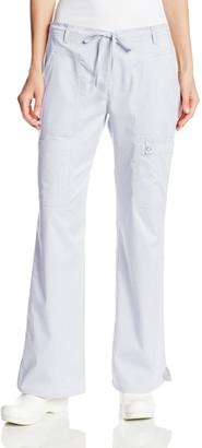 Cherokee Women's Scrubs Luxe Junior Fit Low Rise Drawstring Cargo Pant