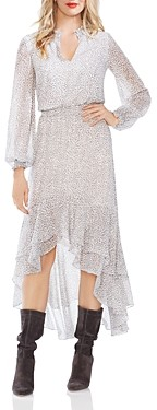 1 STATE Serene Animal Print Dress