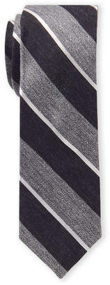 Ben Sherman Grey Stripe Tie