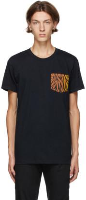 Naked and Famous Denim Black Big Tiger T-Shirt