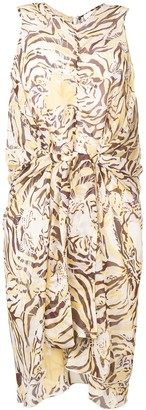 See by Chloe Tiger Print Dress