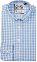Thomas Pink Bailey Slim Fit Gingham Dress Shirt