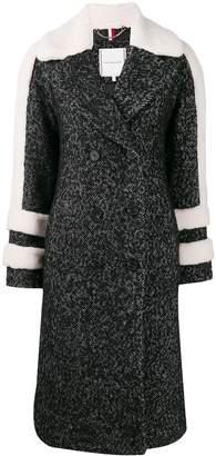 Tommy Hilfiger double breasted herringbone coat
