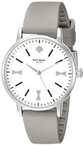 Kate Spade Women's 1YRU0869 Crosby Analog Display Japanese Quartz Grey Watch