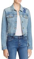 J Brand Embroidered Harlow Denim Jacket - 100% Exclusive