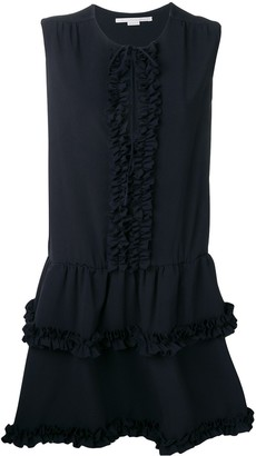 Stella McCartney ruffled trim dress