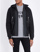 McQ by Alexander McQueen Contrast-panel cotton-jersey hoody