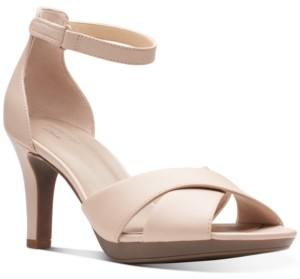 Clarks Collection Women's Adriel Cove Dress Sandals Women's Shoes