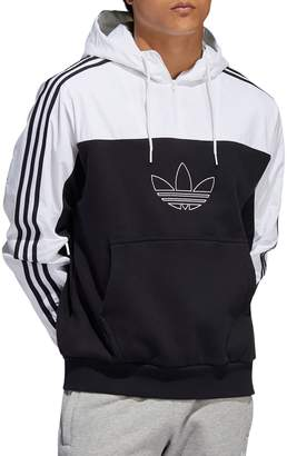 adidas Outline Mixed French Terry Hoodie