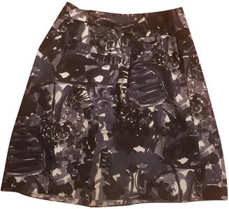 Marni Grey Cotton Skirt for Women