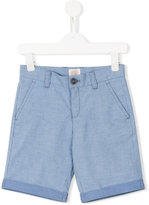 Armani Junior striped casual shorts - kids - Cotton/Spandex/Elastane - 6 yrs