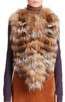 Sonia Rykiel Patchwork Fur Vest