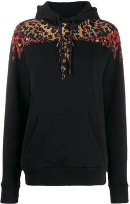 Marcelo Burlon County of Milan Leopard Wings hoodie