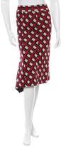 Diane von Furstenberg Berbenner Wool Skirt