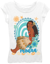 Freeze Disney Moana White 'The Princess' Tee