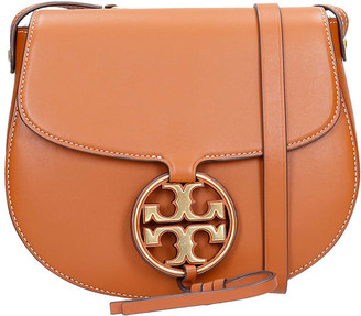 Tory Burch Miller Metal Shoulder Bag In Leather Color Leather