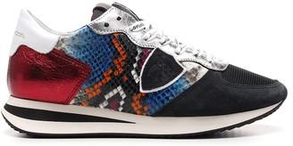 Philippe Model Colour-Block Low-Top Sneakers