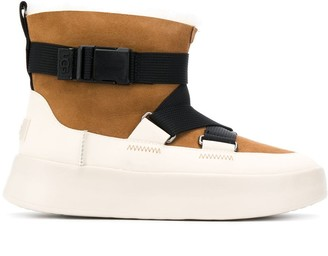 UGG Boom Buckle suede boots