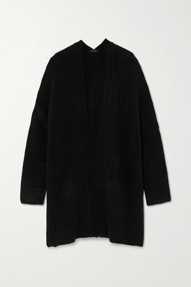 ATM Anthony Thomas Melillo Oversized Knitted Cardigan - Black