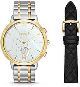 Kate Spade Connected Metro Grand Smart Watch & Leather Strap Gift Set