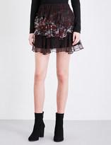 IRO Loey chiffon mini skirt