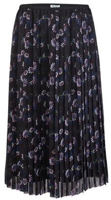 Kenzo Pleated midi-skirt