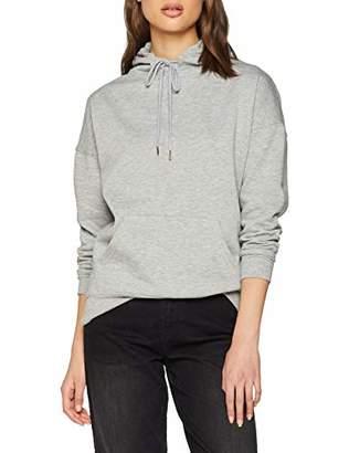 New Look Women's 5927354 Hoodie, (Grey Marl), (Size:)
