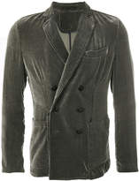 Giorgio Armani double breasted corduroy jacket