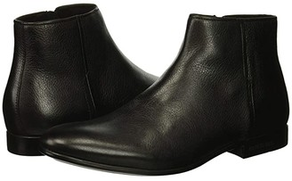 Kenneth Cole New York Mix Zip Boot (Black) Men's Dress Boots