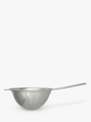 John Lewis & Partners Stainless Steel Long Handle Colander, Dia.20cm