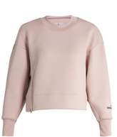 adidas by Stella McCartney Essentials scuba-jersey performance sweatshirt