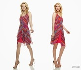 Muse Printed Scoop Neck Dress M2261M