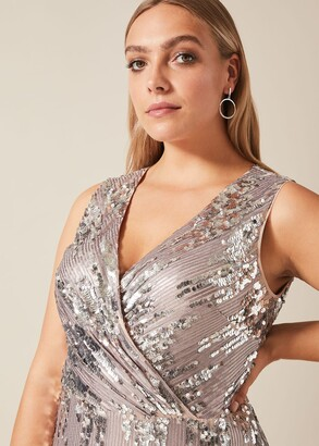 Phase Eight Daphne Sequin Maxi Dress