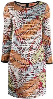 Missoni Foliage-Print Short Dress