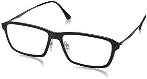 Ray-Ban Women's 0RX 7038 2077 Optical Frames, (Matte Black)