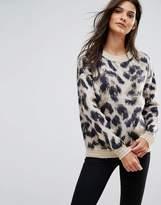 Vero Moda Leopard Print Sweater