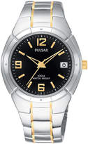 Pulsar Watch, Men's Stainless Steel Bracelet PXH172