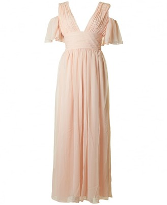 French Connection Women's Constance Drape Maxi Dress