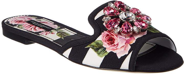 Dolce & Gabbana Embellished Slide
