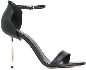 Le Silla Metal Heel Sandals