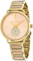 Michael Kors Goldtone Portia Bracelet Watch
