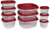 Rubbermaid Easy Find Lid Food Storage Set, 20pc